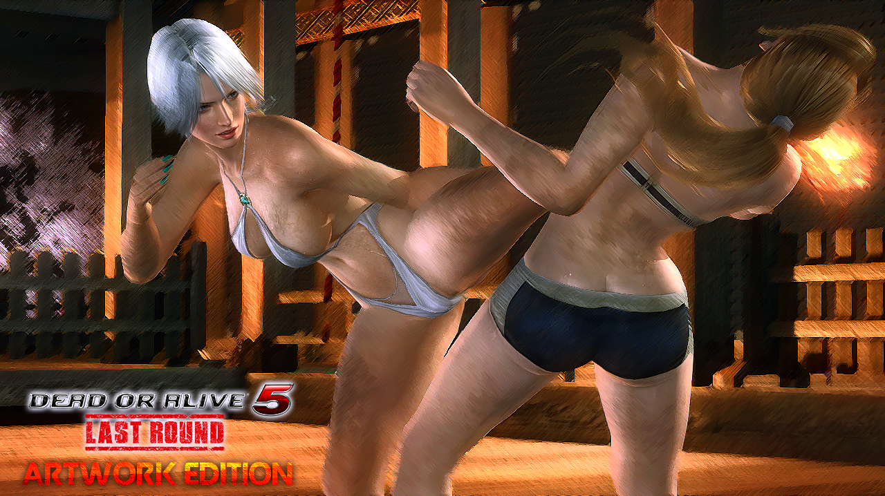 Dead or Alive 5 L. R. - Artwork Edition (Cover B) by somebody2978