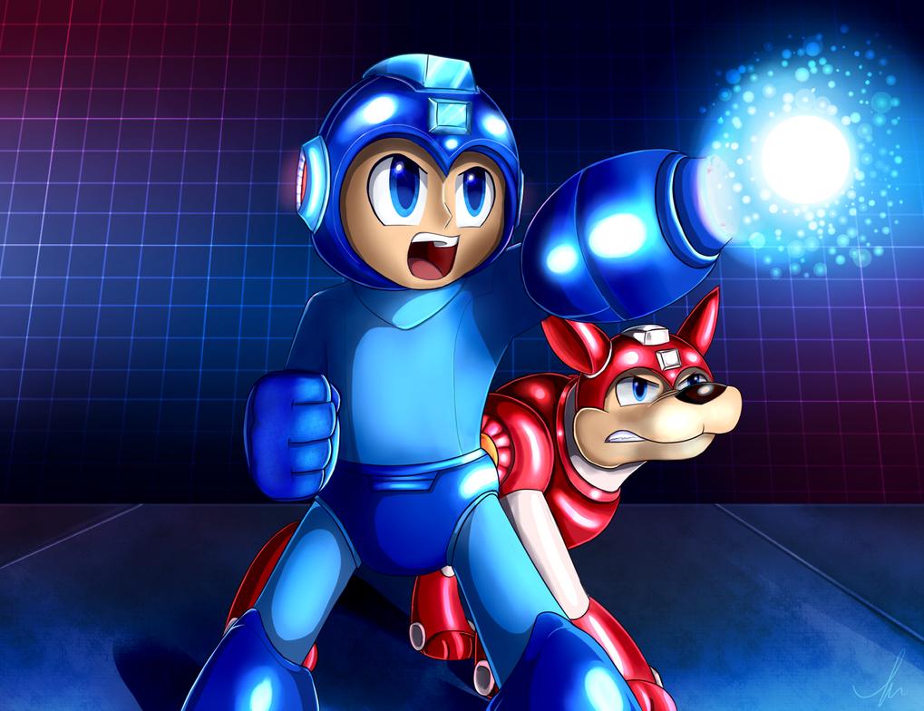 Mega Man by Skytalon16