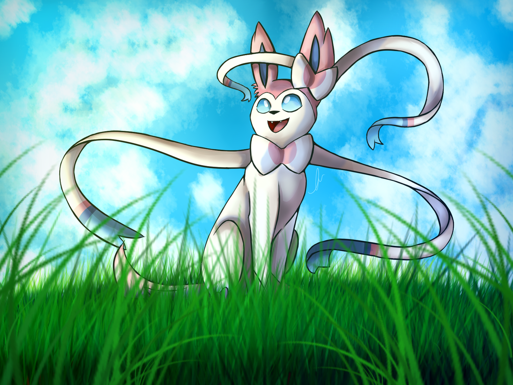 Sylveon by Skytalon16