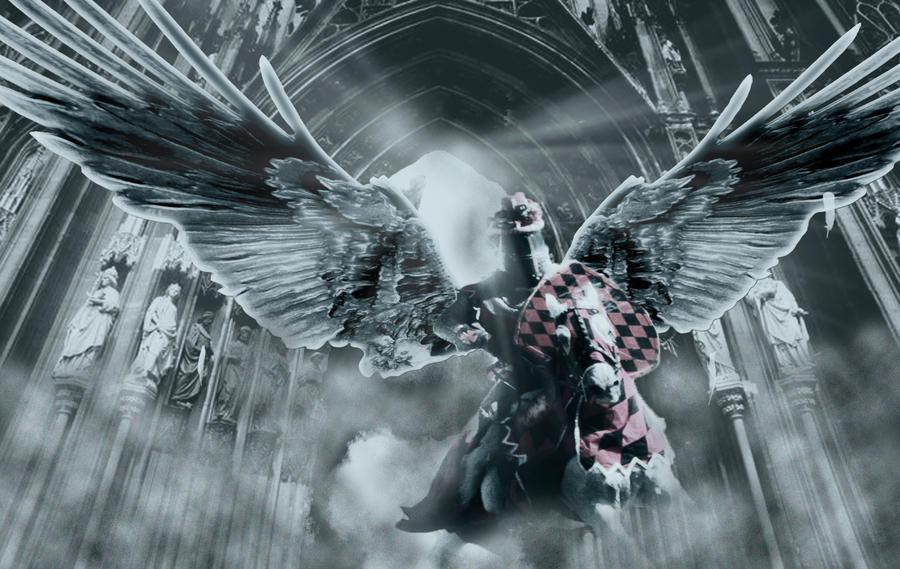 angel knight by hekigdit on deviantart