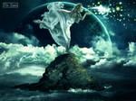 deusa do mar by uillsam