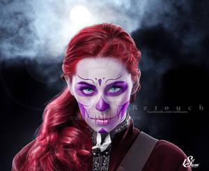 Maquiagem Digital Dia De Los Muertos