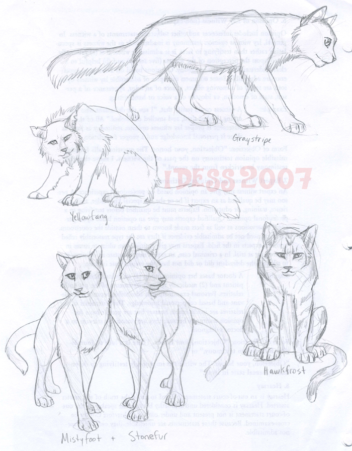 warrior cats coloring pages starclan - photo#18