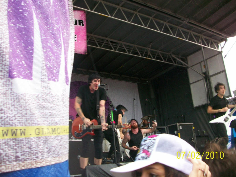 Alesana Warped Tour