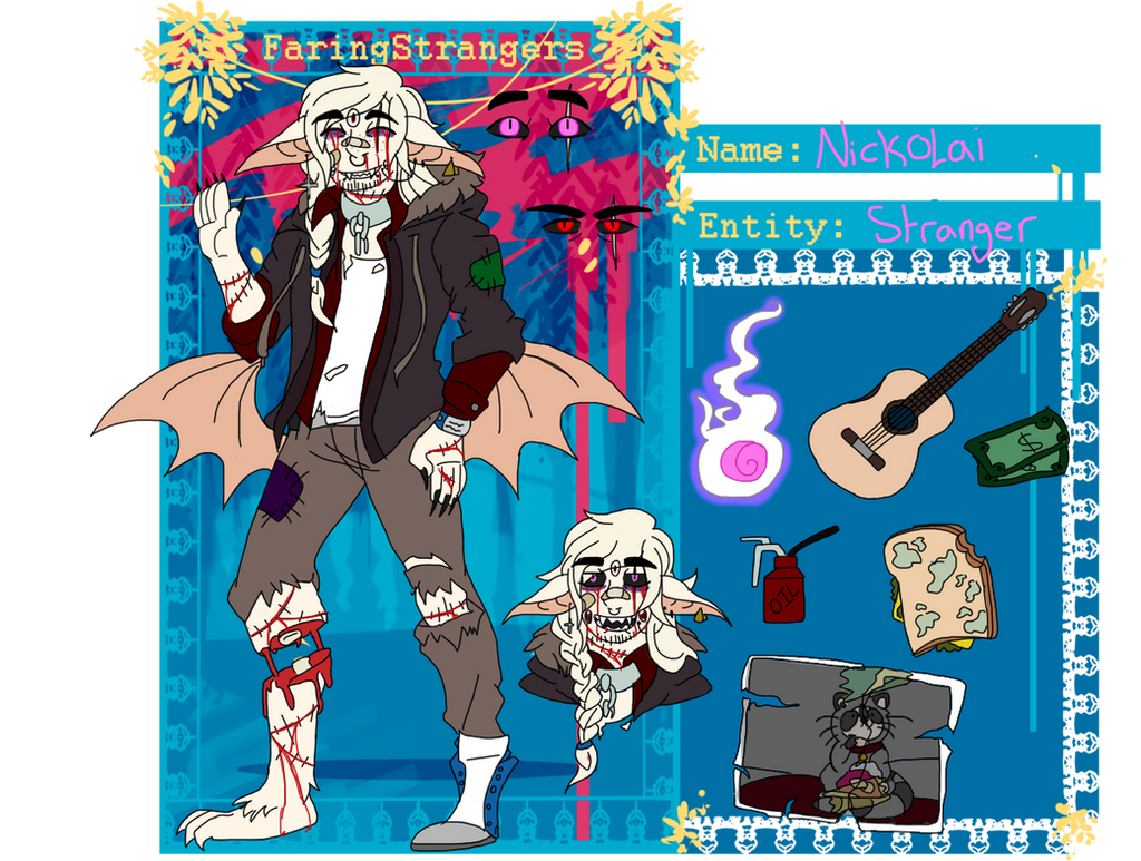[FS] Nickolai the Hobo Bat by TheFallingpiano