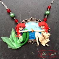 Ariel cameo - The little mermaid by Akiko-s-World