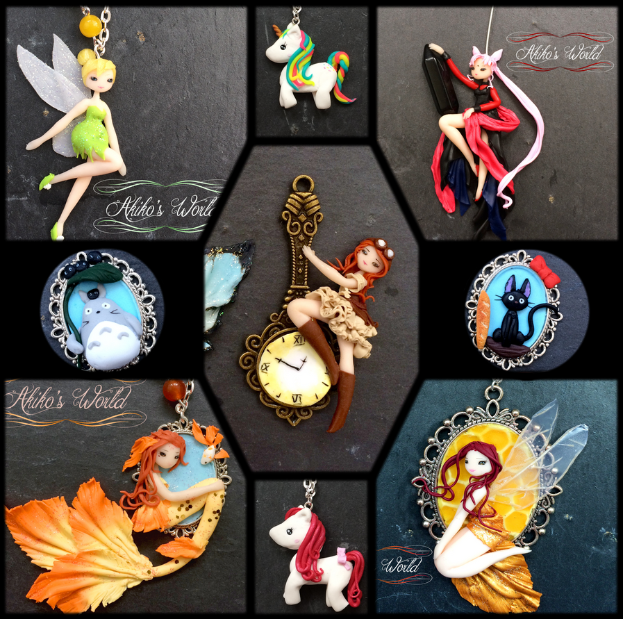 Custom jewels - New giveaway on facebook by Akiko-s-World