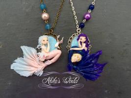 New mermaid cameo - Preparing the Japan Expo by Akiko-s-World