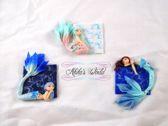 New mermaid's backgrounds :D by Akiko-s-World