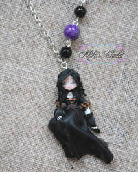 Yennefer necklace from Witcher 3 - Commission by Akiko-s-World