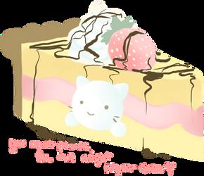 Nyaa-Cake by i-heart-hikaru