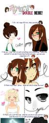Doubles Meme by i-heart-hikaru