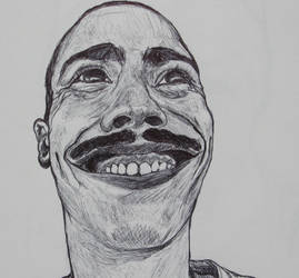 Self Portrait Sketch by Saint-Benedict