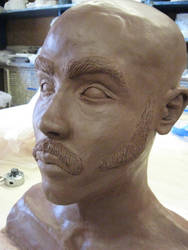 Self Portrait Bust -angle two- by Saint-Benedict