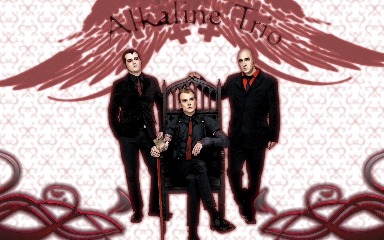 Alkaline Trio - White by Havix00