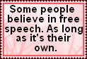 Free Speech by JediSenshi