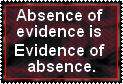 Absence is evidence by JediSenshi