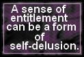 Sense of Entitlement by JediSenshi
