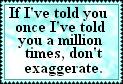 Exaggeration by JediSenshi