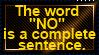 Complete Sentence by JediSenshi