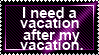 Vacation by JediSenshi