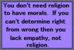 Morals by JediSenshi