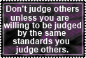 Judging Others by JediSenshi