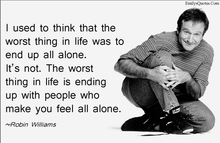 Robin Williams Quote by JediSenshi
