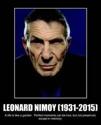 Leonard Nimoy's Last Tweet.