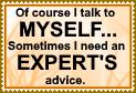 Talk to myself by JediSenshi