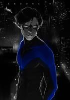 Nightwing by AmoonaSaohin