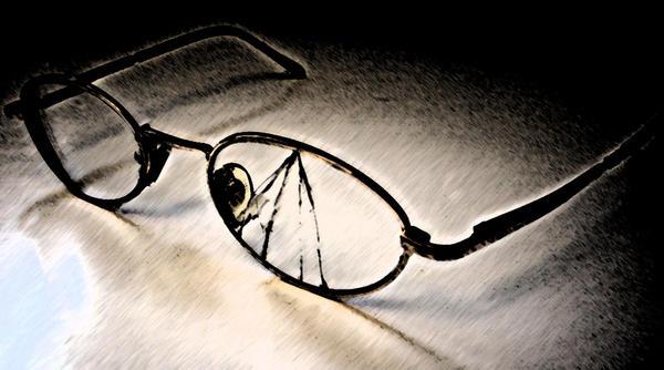 Broken glasses by KuroiAsato on DeviantArt
