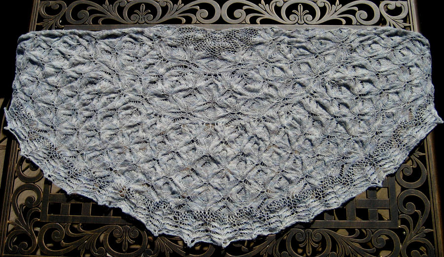 Butterfly Wings Shawl by GarnetKimzey