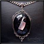 Meat Cleaver Pendant Necklace