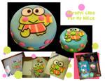 Keroppi cake by katseyesdesigns