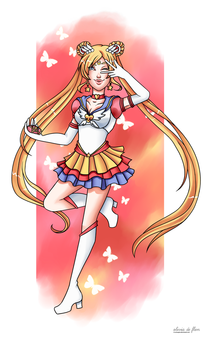 Eternal Sailor Moon by amuupon
