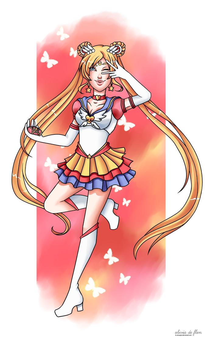 Eternal Sailor Moon by amuupon