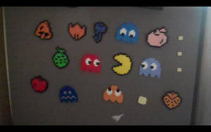 Commission: Pacman Magnet Set by SuzuriHeinze