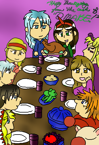 Omake: Happy Thanksgiving! by SuzuriHeinze