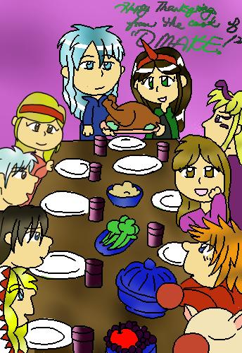 Omake: Happy Thanksgiving! by SuzuriHeinze