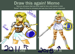 Sophitia, before and after