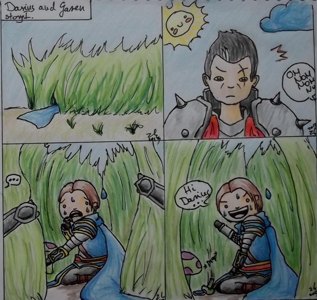 Darius and Garen by zoulkill on deviantART