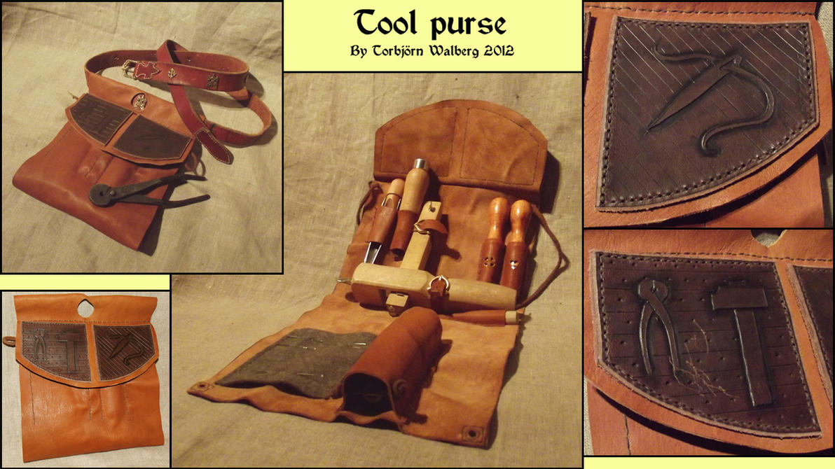Tool purse by Noctiped