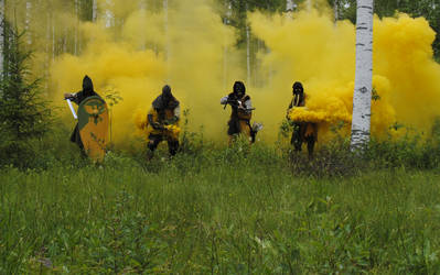 Medieval toxic gas unit
