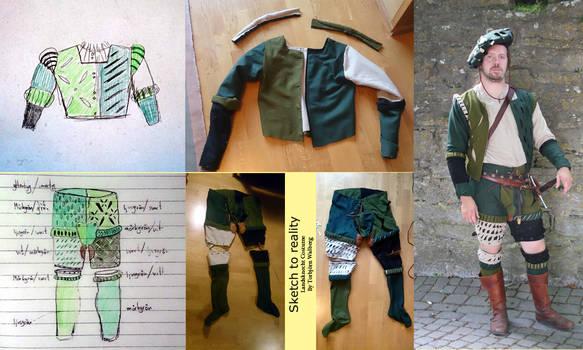 Landsknecht costume