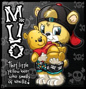 COMMISSION: Dis M'a Pooh Bear!