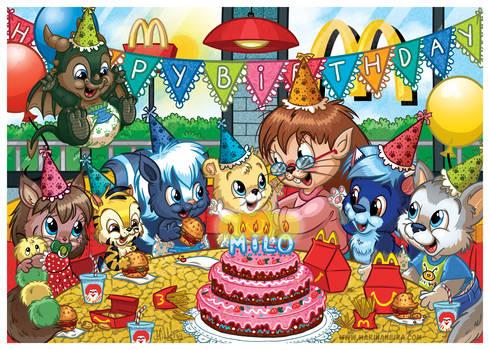 COMMISSION: Birthday at McDonald's