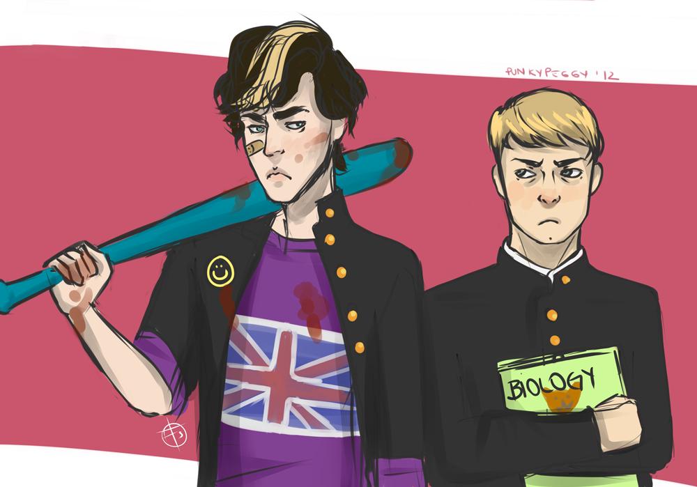 Sherlock Holmes The Anime (?) By Punkypeggy On DeviantArt