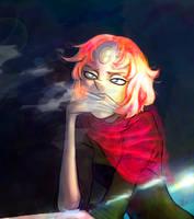 Smoke and shadow by Xinops