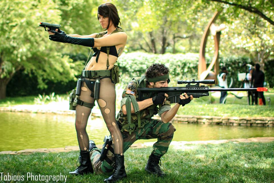 Quiet and Big Boss. by CrimsonandRoses